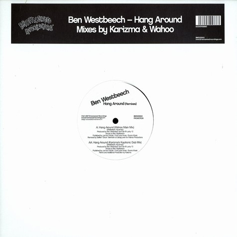 Ben Westbeech - Hang around remixes