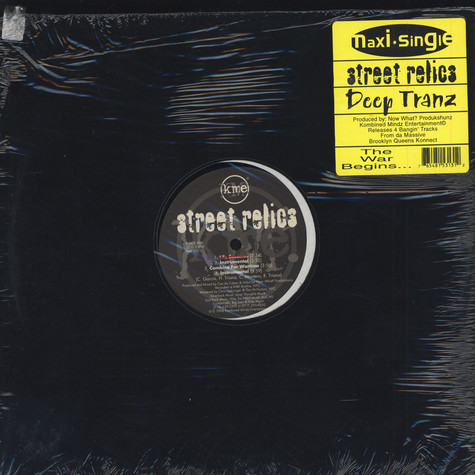 Deep Tranz / Street Relics - It's Only Gettin' Worse