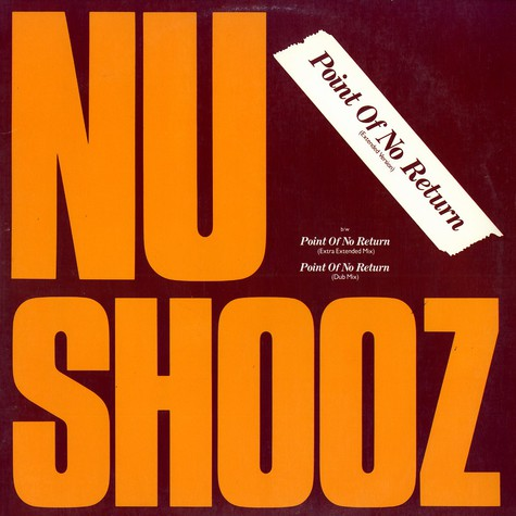 Nu Shooz - Point Of No Return