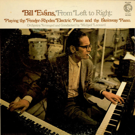 Bill Evans - From left to right