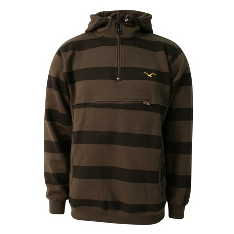Cleptomanicx - Hooded Stripe Sweater