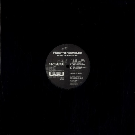 Roberto Rodriguez - Back to square EP