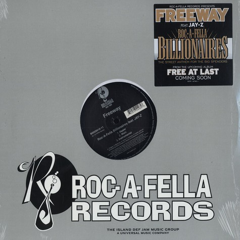 Freeway - Roc-A-Fella billionaires feat. Jay-Z