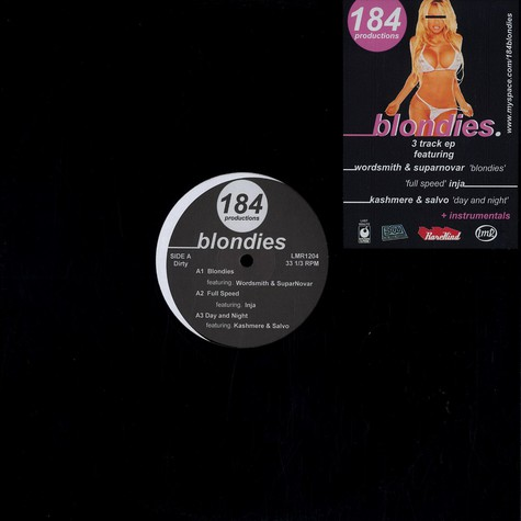 184 Productions - Blondies feat. Wordsmith & SuparNovar