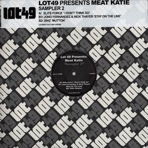 Lot 49 presents Meat Katie - Sampler 2
