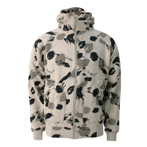 Addict - Method zip-hoodie She storm camo