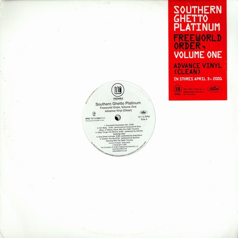 Southern Ghetto Platinum - Freeworld order