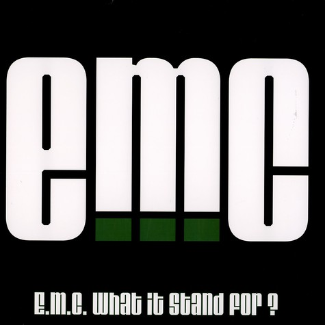 eMC (Masta Ace, Wordsworth & Stricklin) - What It Stand For?