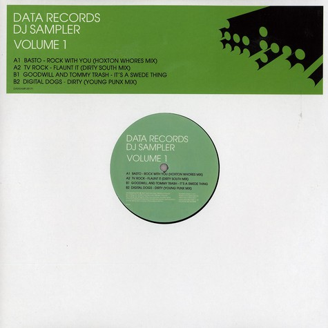 Data Records presents - DJ sampler volume 1