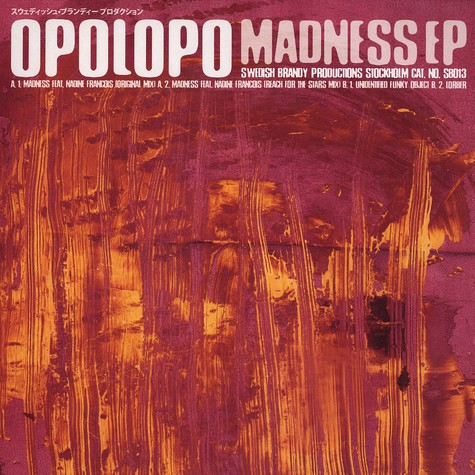 Opolopo - Madness feat. Nadine Francois