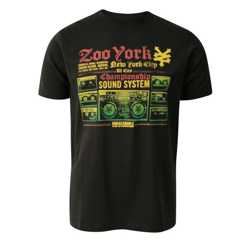 Zoo York - Ghetto blaster T-Shirt