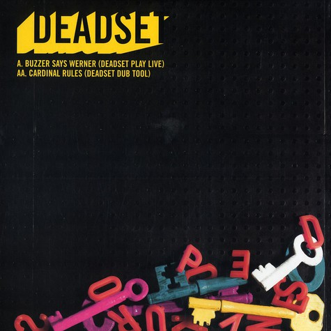 Deadset - Buzzer says Werner (Deadset play live)