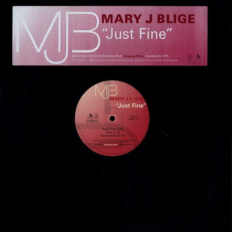 Mary J.Blige - Just fine