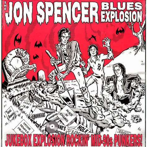 Jon Spencer Blues Explosion, The - Jukebox explosion: rockin' mid-90s punkers!
