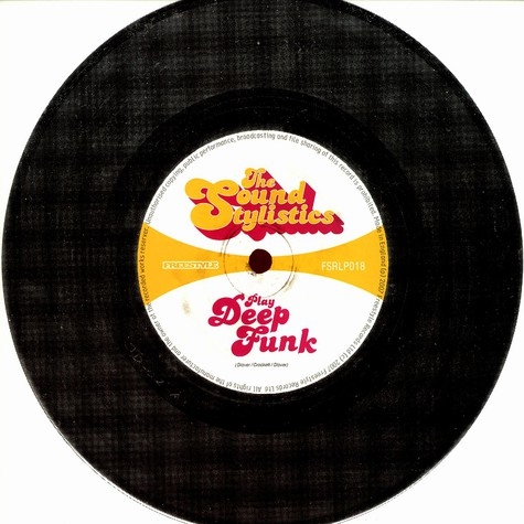 Sound Stylistics, The - Play deep funk