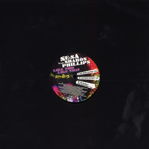 Se:Sa - Like this, like that feat. Sharon Phillips remixes
