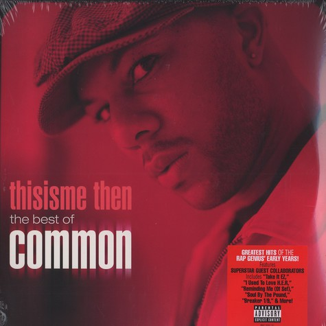 Common - Thisisme Then: Best Of Common