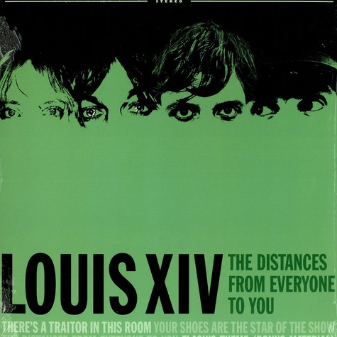 Louis XIV. - The distances from everyone to you EP