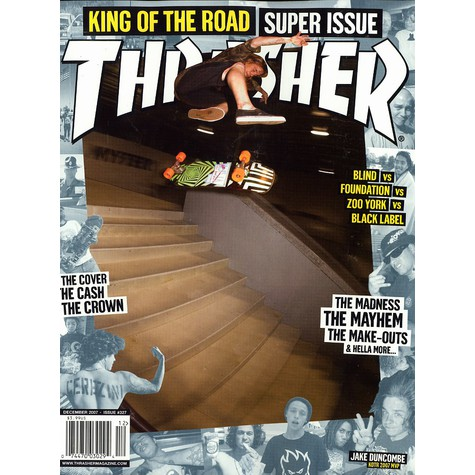 Thrasher Magazine - 2007 - December - Issue 327