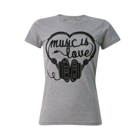 Ubiquity - Music is love Women T-Shirt