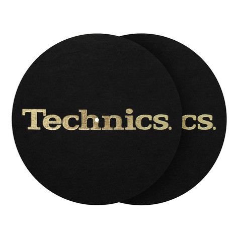 Technics - Logo Gold Foil Slipmat