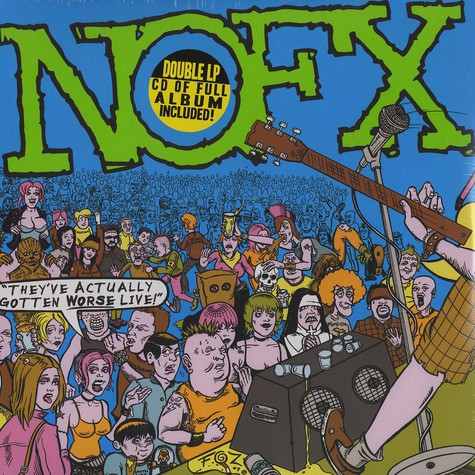 NOFX - They've actually gotten worse live !