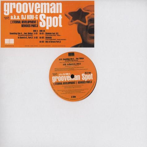 Grooveman Spot - Eternal Development Remixes Part 3