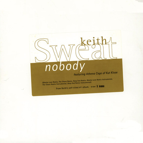 Keith Sweat - Nobody feat. Athena Cage