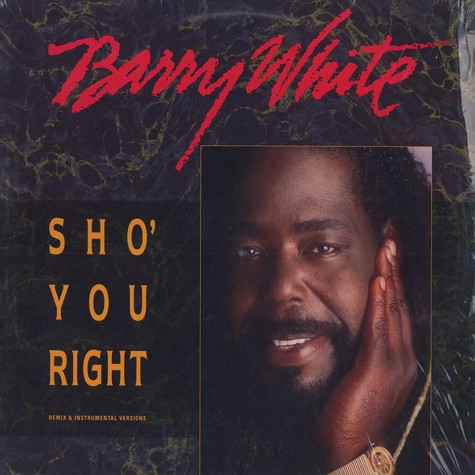 Barry White - Sho you right remix