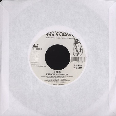 Freddie McGregor / Terry Linen - I pray / no time to linger
