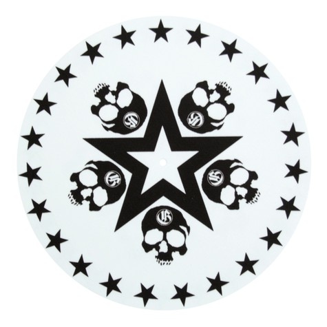 Glowtronics - Skull Star Glow In The Dark Slipmat