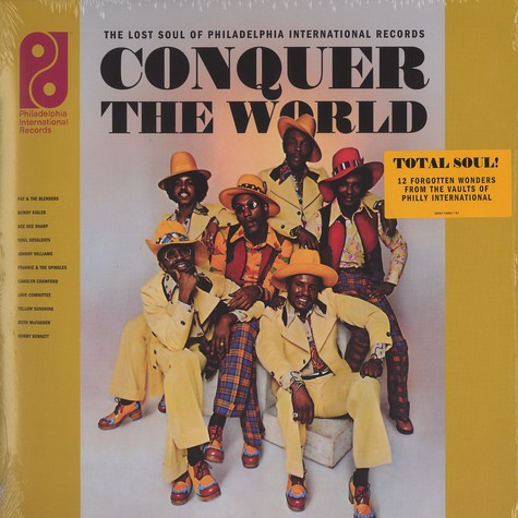 V.A. - Conquer the world - the lost soul of Philadelphia Int'l Records