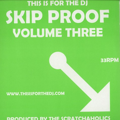 Scratchaholics - Skip proof vol. 3
