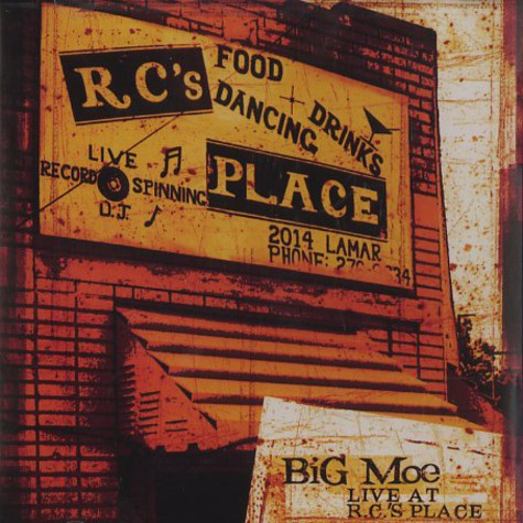 Big Moe - Live at R.C.'s place