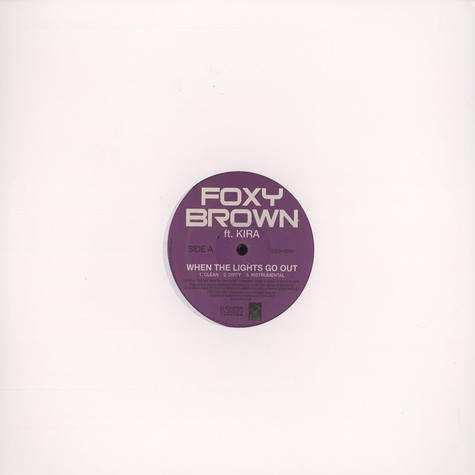 Foxy Brown - When the lights go out feat. Kira