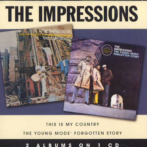 Impressions, The - This is my country / the young mods' forgotten story