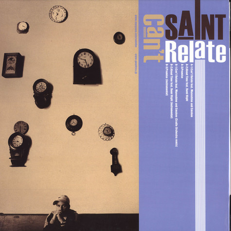 Saint - Can't relate feat. Muneshine & Emskee