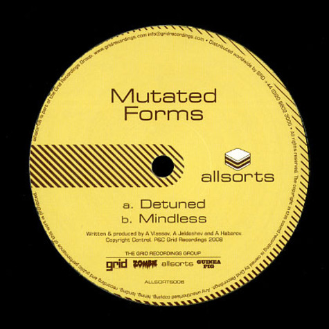 Mutated Forms - Detuned