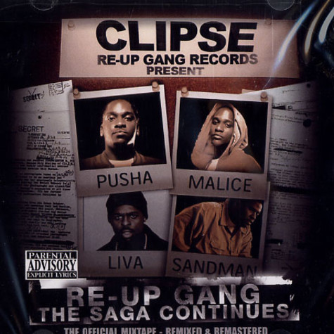 Clipse - Re-Up Gang the saga continues