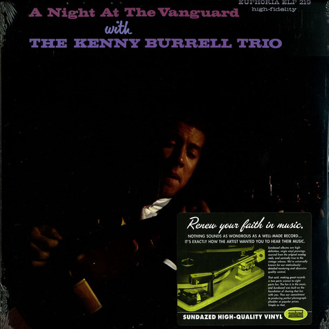 Kenny Burrell Trio, The - A night at the Vanguard with the Kenny Burrell Trio