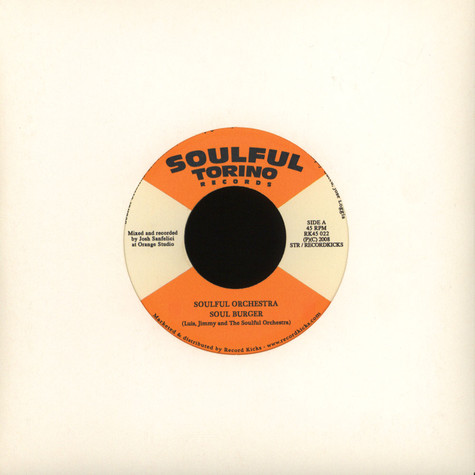 Soulful Orchestra - Soul Burger