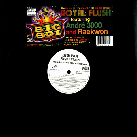 Big Boi of Outkast - Royal flush feat. Andre 3000 & Raekwon