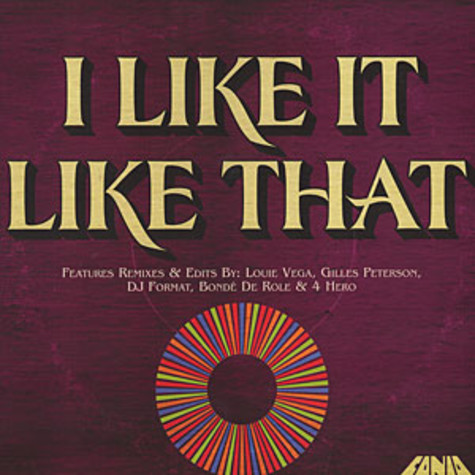 V.A. - I Like It Like That - The Fania Remixes