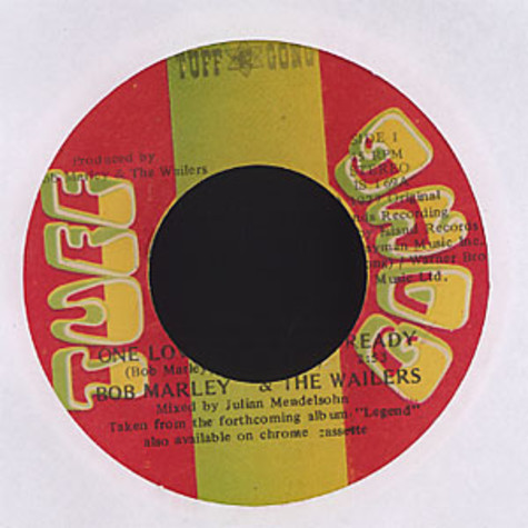 Bob Marley & The Wailers - One love / people get ready