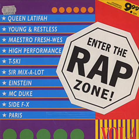V.A. - Enter the rap zone volume 4