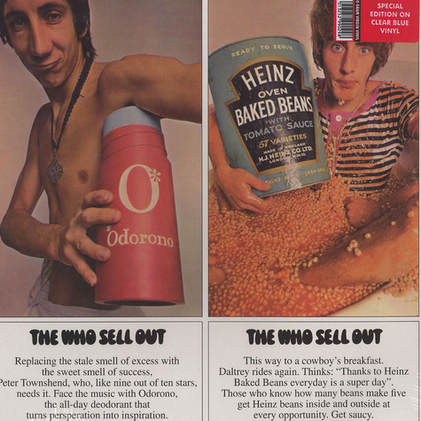 Who, The - The Who sell out Blue Vinyl Edition