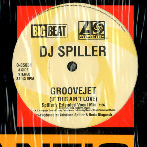DJ Spiller - Groovejet (if this ain't love)