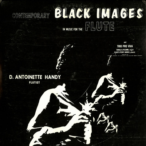 D. Antoinette Handy - Contemporary black images in music for the flute
