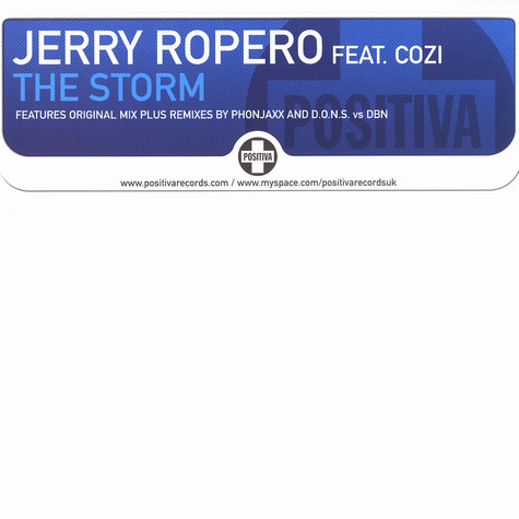 Jerry Ropero - The storm feat. Cozi