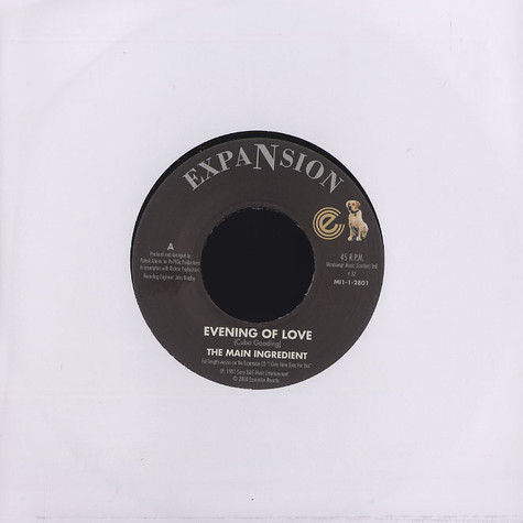 Main Ingredient, The - Evening of love